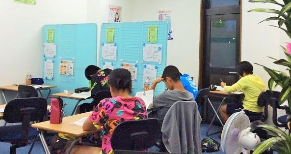 自習教室画像